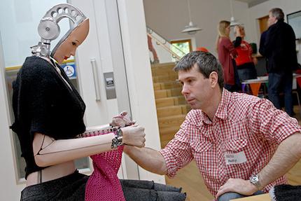 agnes knitting robot