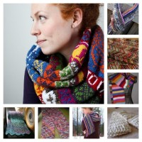 So many stash-busting Scarf Projects