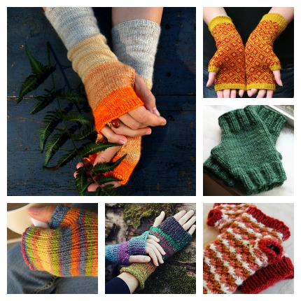 Mitts and Mittens for Stash Busting