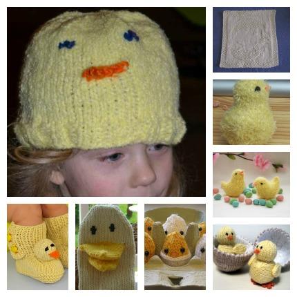 chick knitting patterns