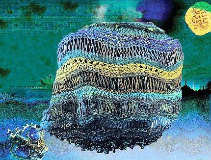 rogue wave shawl