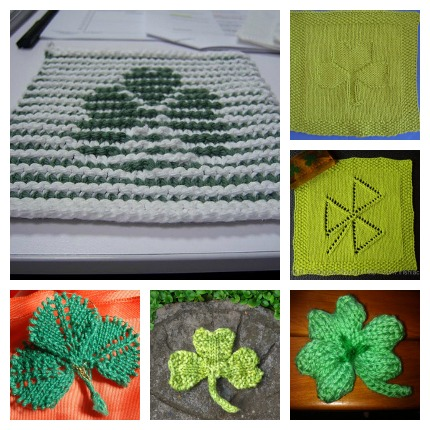 Quick Shamrock Knitting Patterns Knitting