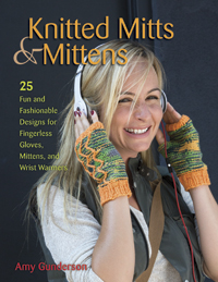 knitted mitts and mittens