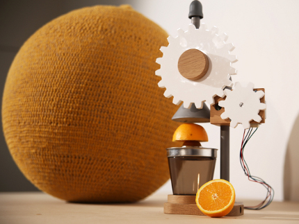 big squeeze knit juicer