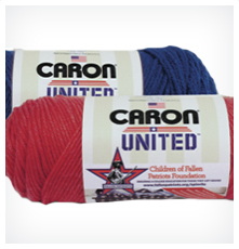 Caron's United yarn helps kids of fallen soldiers