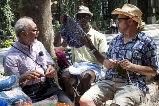 The Wall Street Journal gets it right in story about men knitting.
