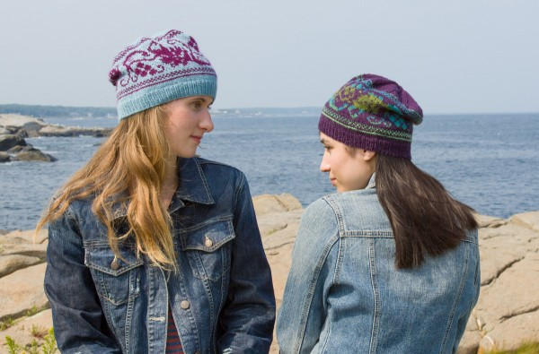 Check out the cute grapevine hat from Classic Elite