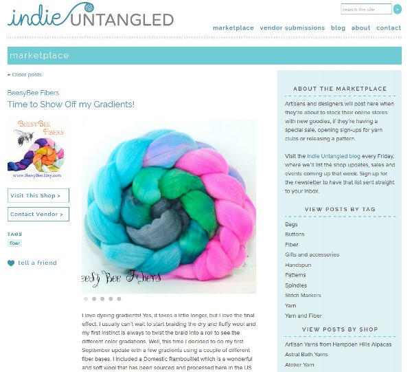 Get the news from your favorite indies with Indie Untangled.