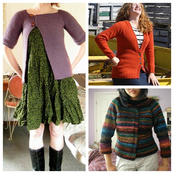 top down cardigan knitting patterns