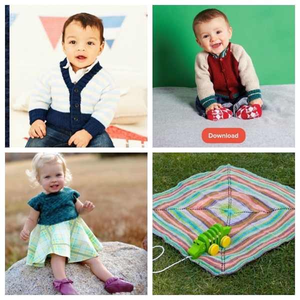Cute patterns to knit for little humans.
