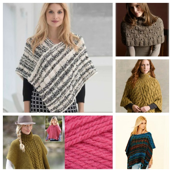 Pretty Ponchos To Knit Knitting