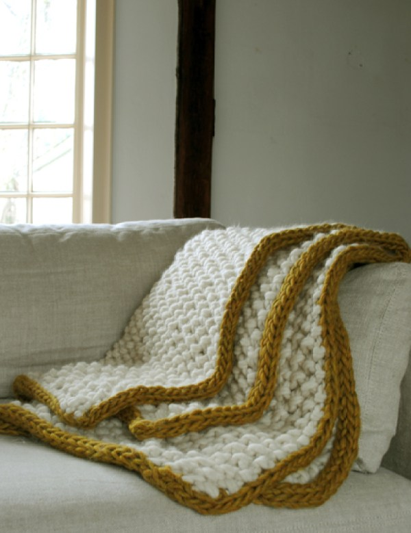 Knit Purl Afghan Patterns : 6 Knitted Throw Patterns   Knitting