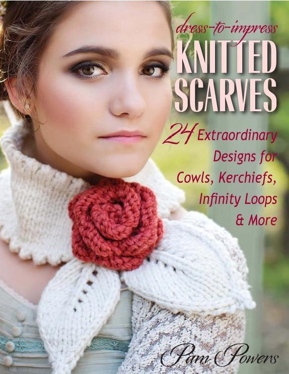 dress to impress knitted scarves giveaway
