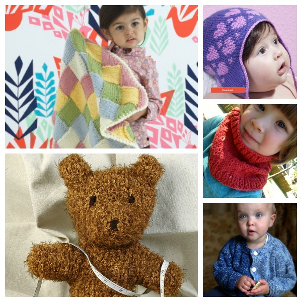 Cute knitting projects for little kids