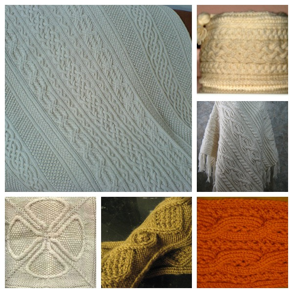 aran afghans and accessories