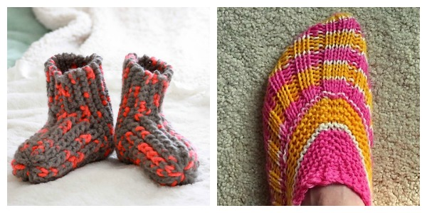 Simple Slippers to Keep Your Feet Warm