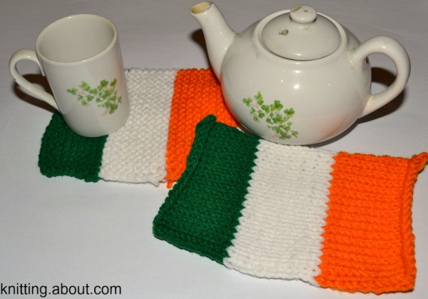 irish flag coasters