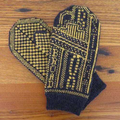 broadway mittens
