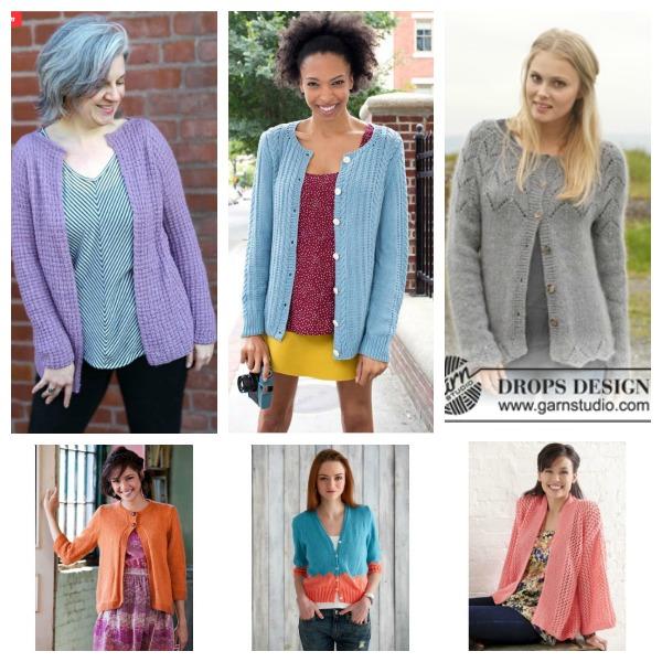 cardigan knitting patterns