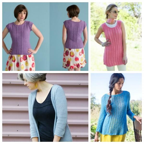 summer top knitting patterns