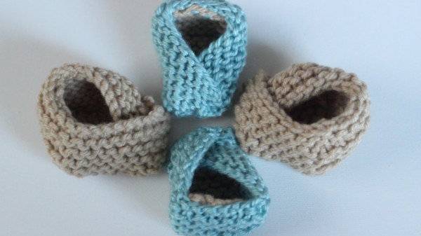 Knit Super Cute Fortune Cookie Baby