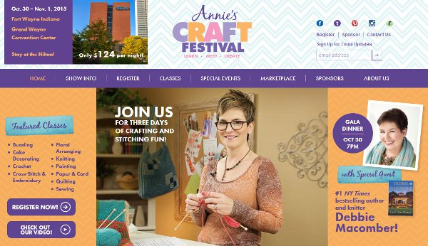 annies craft festival