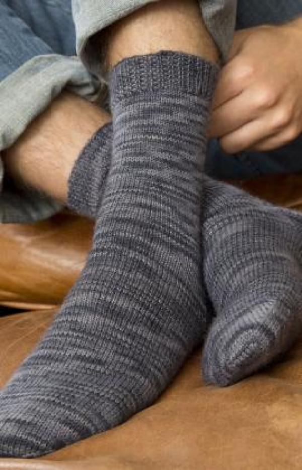 8 Cozy Sock Patterns for HIM - Knitting