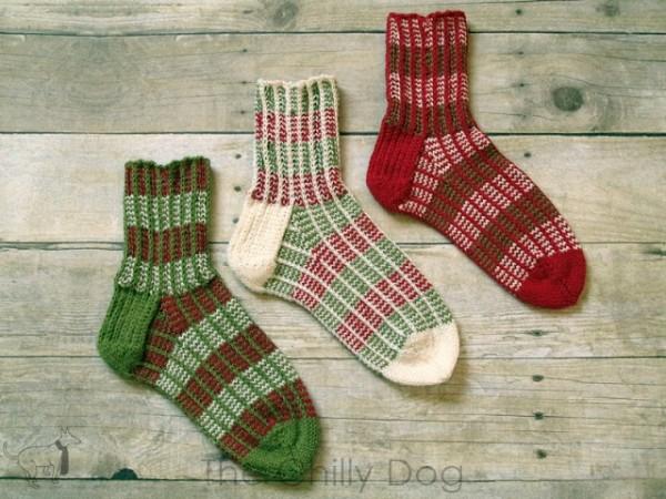 wintermint socks knitting pattern