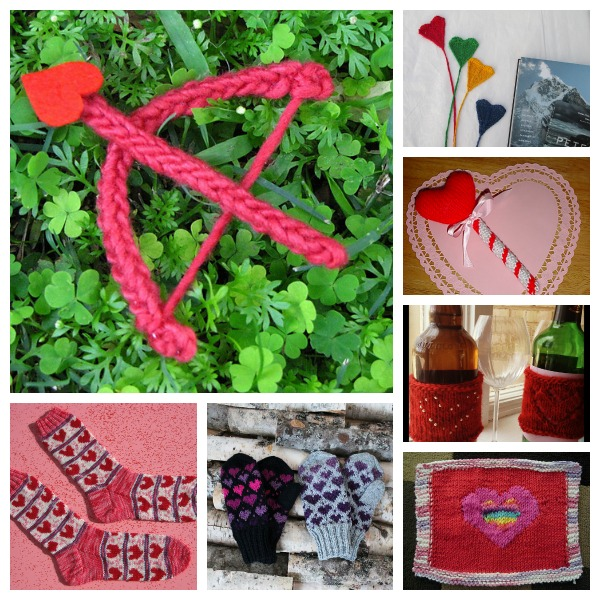 valentine's day knitting patterns