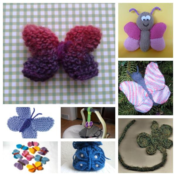Butterfly knitting patterns