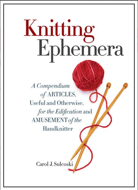 knitting ephemera book review