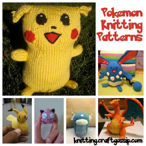 Pokemon Knitting Patterns: Gotta Knit \'Em All – Knitting