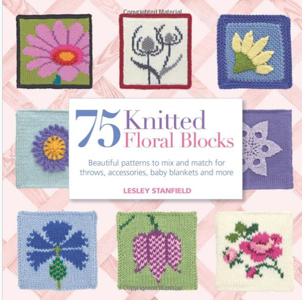 75 floral blocks to knit giveaway