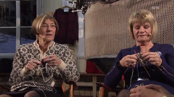 slow knitting on netflix