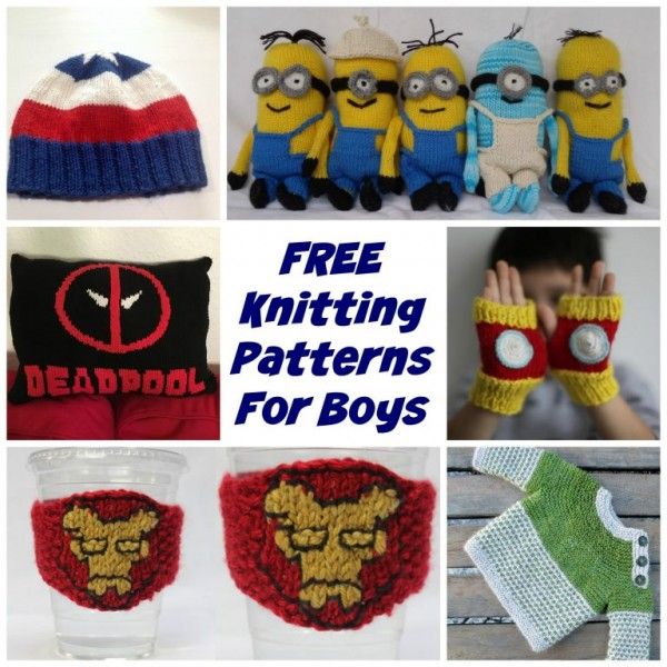 Knitting patterns for boys
