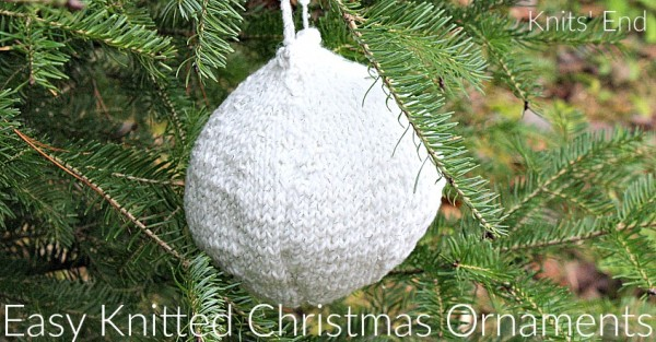 Simple Knitting Patterns Christmas Decorations : Knit a Simple Christmas Bauble   Knitting