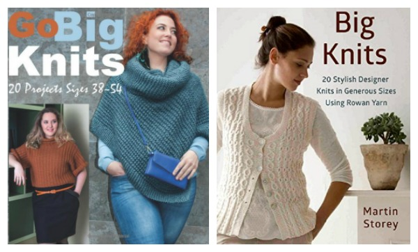 plus size knitting book giveaway