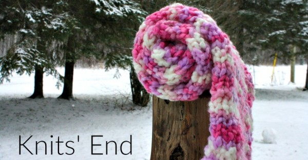 quick and easy knit scarf pattern
