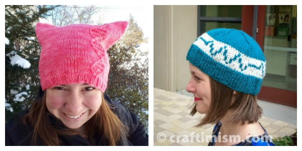 More Knit Hat Ideas for Science Marches – Knitting 17cbcbc4e