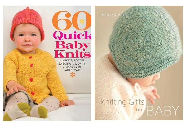 Enter to win two great books for knitting for babies.