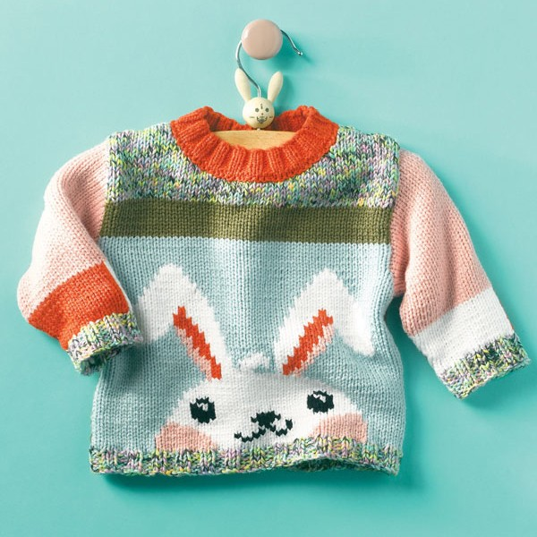 toddler bunny sweater knitting pattern