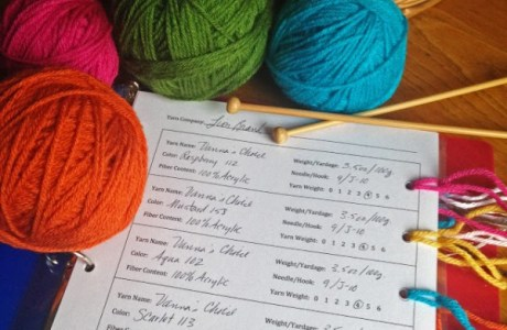 A Great Idea for Sorting Your Yarn Stash