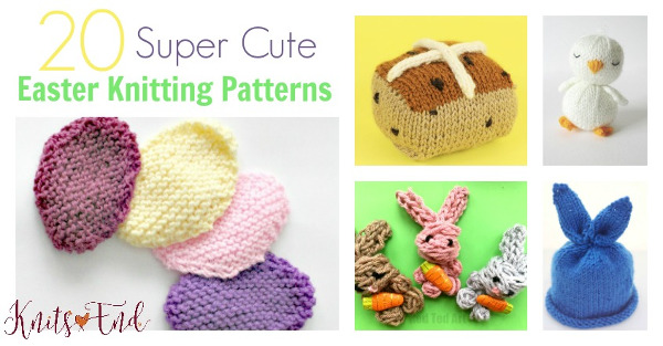 More Cute Quick Easter Patterns to Knit