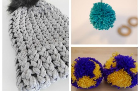 Pom-Poms are Still a Big Thing — Here are Three Ways to Make Them