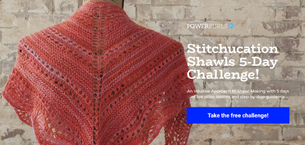 Learn to knit shawls intuitively with Kara Gott Warner.