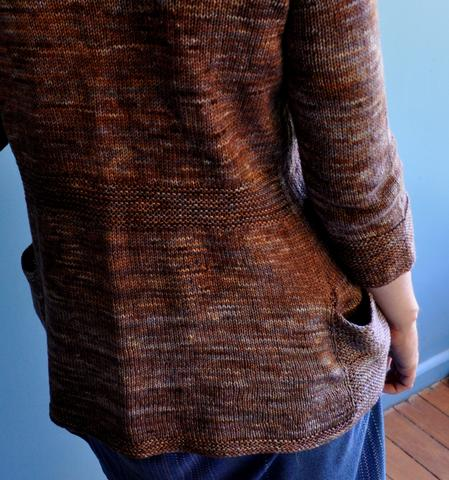 why to alternate skeins with knitting with hand dyed yarn