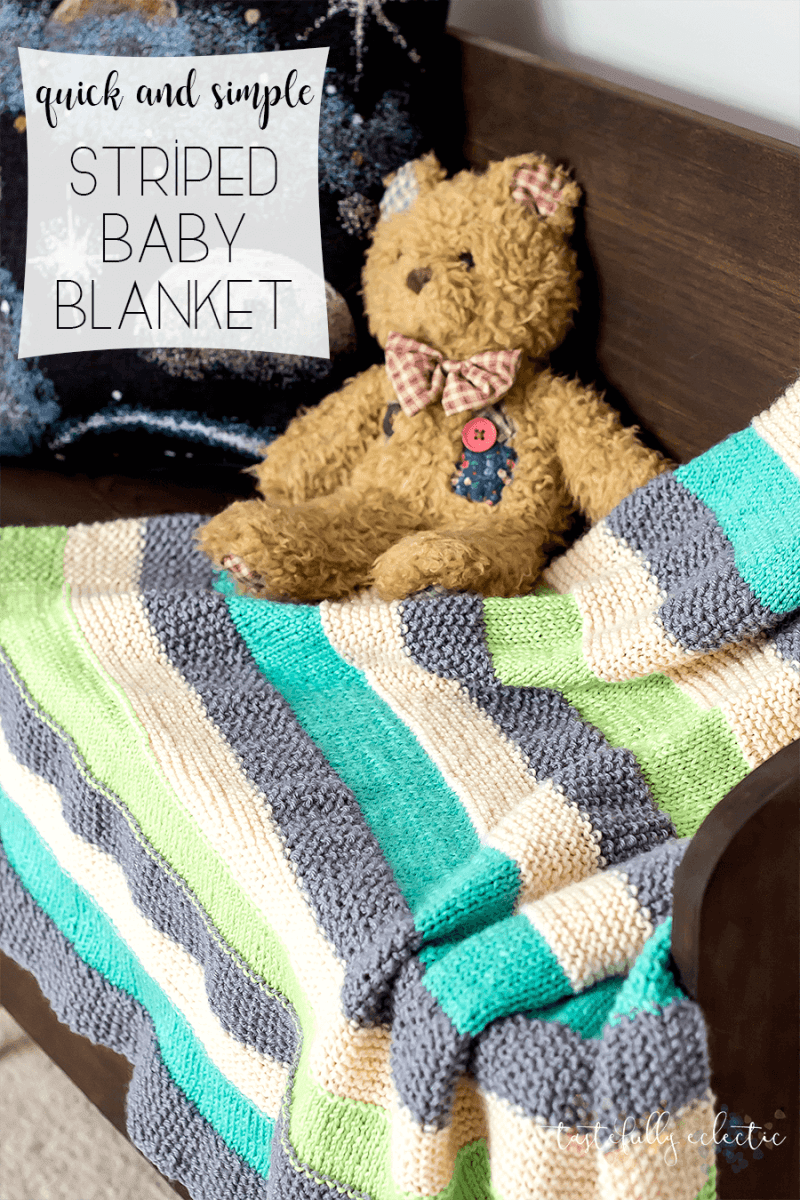 Knit A Simple Blanket For Baby Knitting