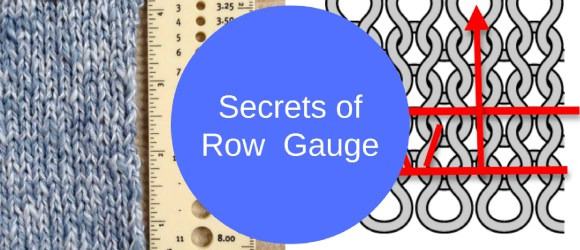 secrets of row gauge: yes, it really matters
