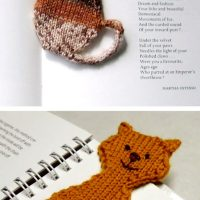 A Cool Collection of Bookmark Knitting Patterns for Back to School