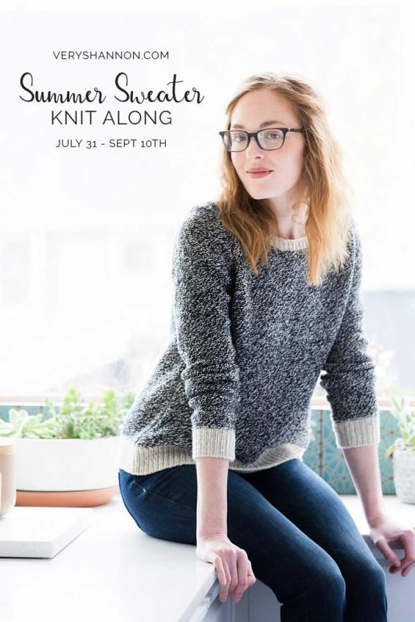 summer sweater knitalong very shannon
